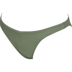 arena Solid bikini Dames, army-shiny green